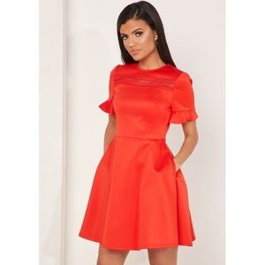 NWT TED BAKER LONDON Calizee Skater Dress, 4